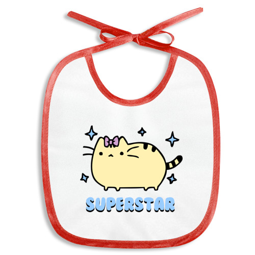 Слюнявчик  Фото 01, Superstar cat