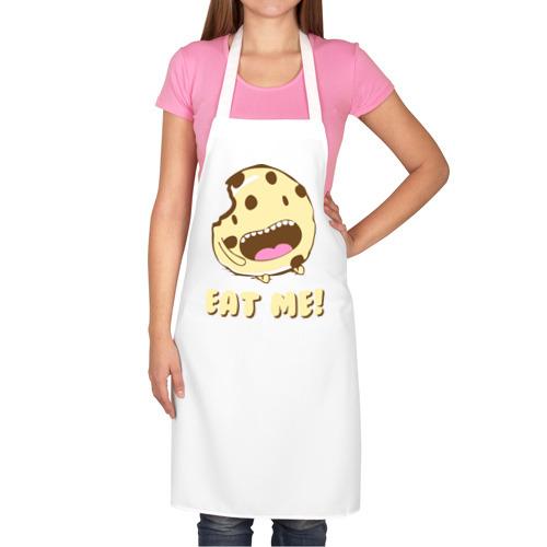 Фартук белый  Фото 02, Eat me! I'm Cake!
