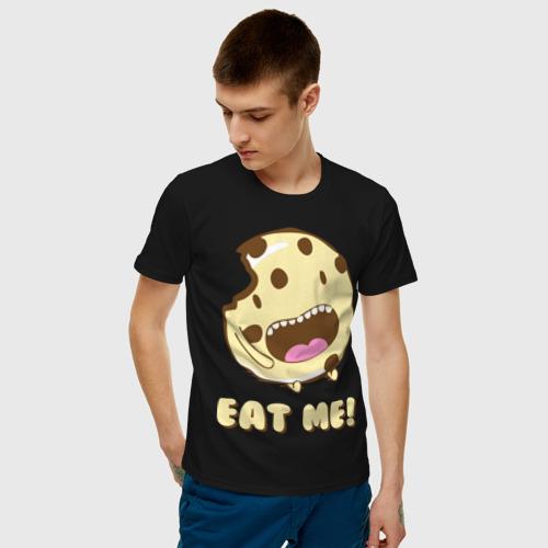 Мужская футболка хлопок Eat me! I'm Cake! Фото 01