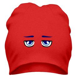 Синие аниме глаза