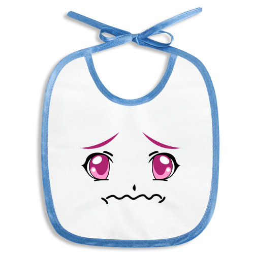 Розовые аниме глаза