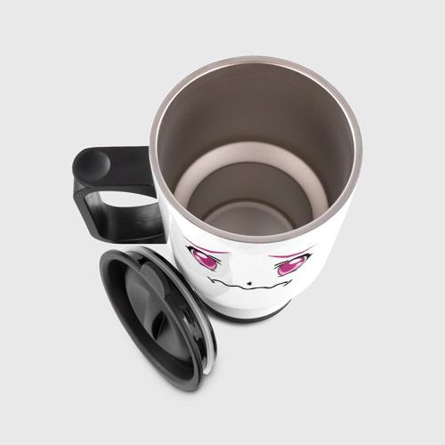 Авто-кружка Розовые аниме глаза Фото 01