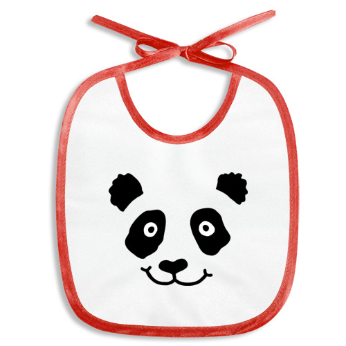 Слюнявчик  Фото 01, Морда панды