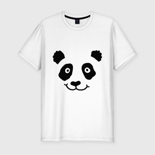 Мужская футболка премиум  Фото 01, Морда панды