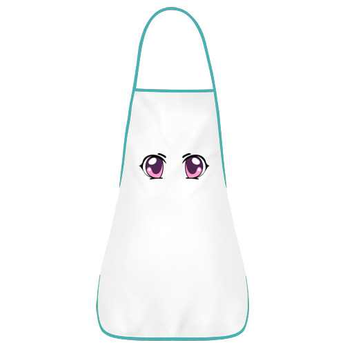 Фиолетовые аниме глаза
