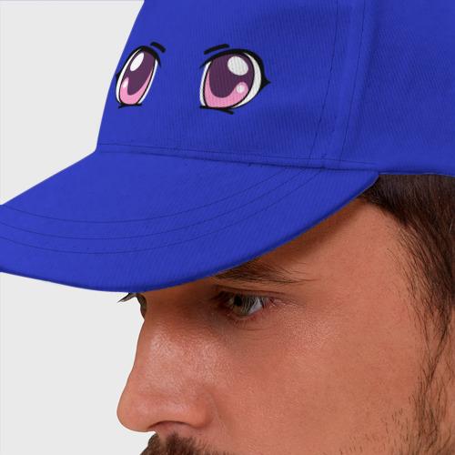 Бейсболка Фиолетовые аниме глаза