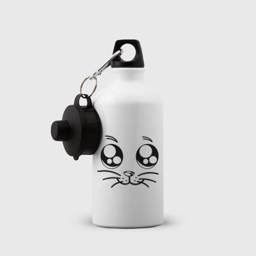Бутылка спортивная Мордочка котейки Фото 01