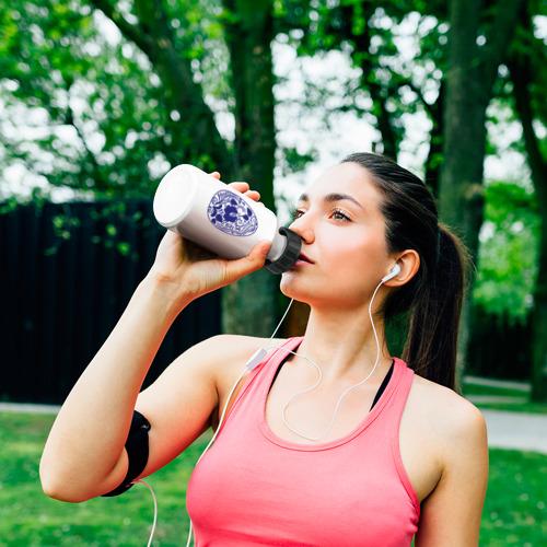 Бутылка спортивная  Фото 06, Easter egg gzhel