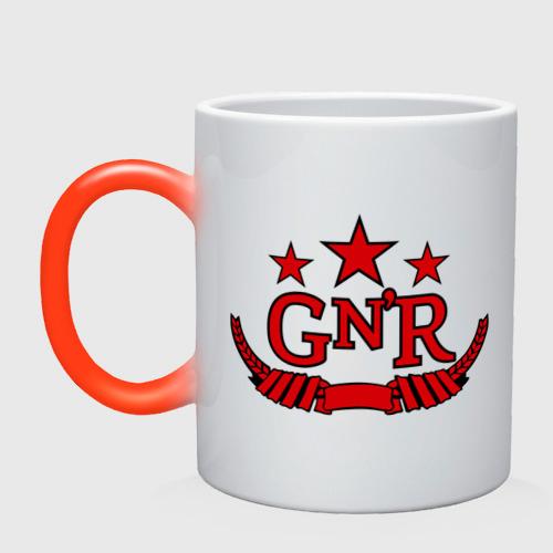 Кружка хамелеон  Фото 01, GNR red