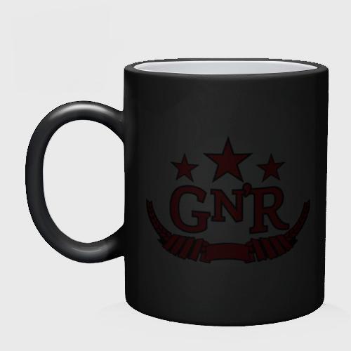 Кружка хамелеон  Фото 02, GNR red