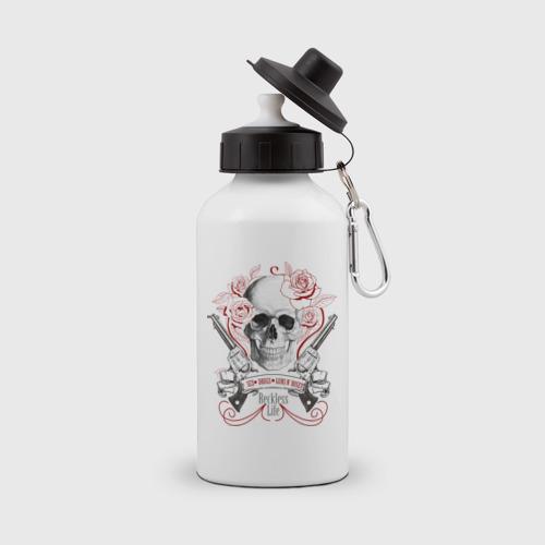 Бутылка спортивная Sex Drugs Guns n roses