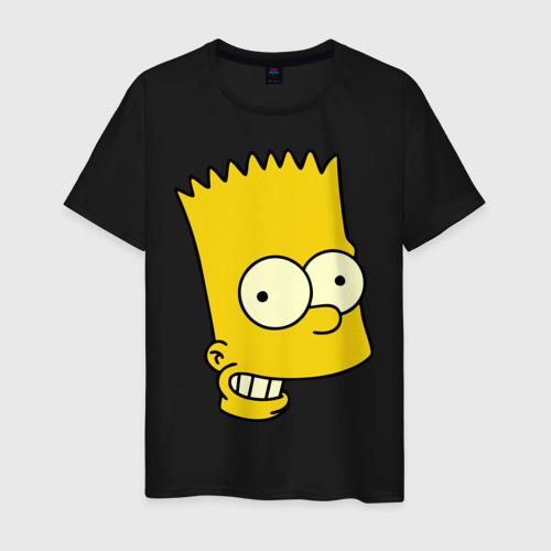 Мужская футболка хлопок Голова Барта