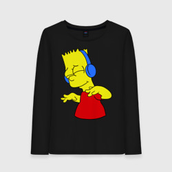 Барт в наушниках