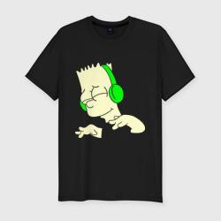 Барт слушает музыку и светится - интернет магазин Futbolkaa.ru