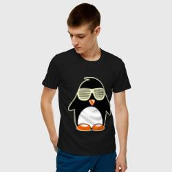 Пингвин в очках-жалюзи glow