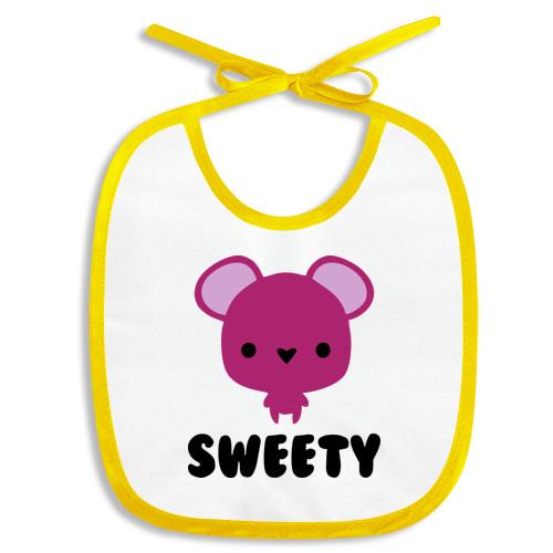 Слюнявчик sweety mouse