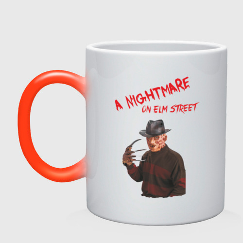 Кружка хамелеон  Фото 01, A Nightmare on Elm street