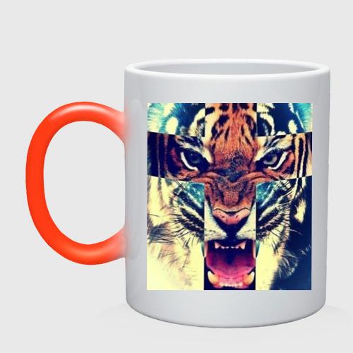 Кружка хамелеон SWAG tiger