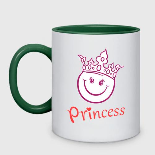 Кружка двухцветная  Фото 01, Принцесса