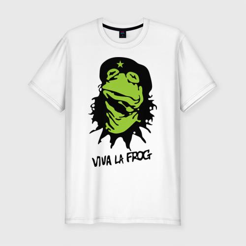 Мужская футболка премиум  Фото 01, Viva la Frog