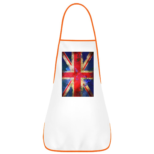 Фартук с кантом Флаг Британии в цветах