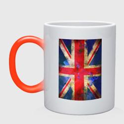 Флаг Британии в цветах