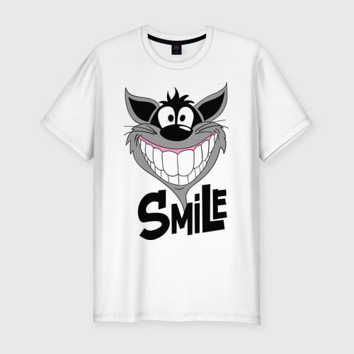 Мужская футболка премиум  Фото 01, Улыбка Smile