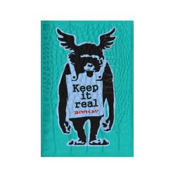 Keep it real. Banksy