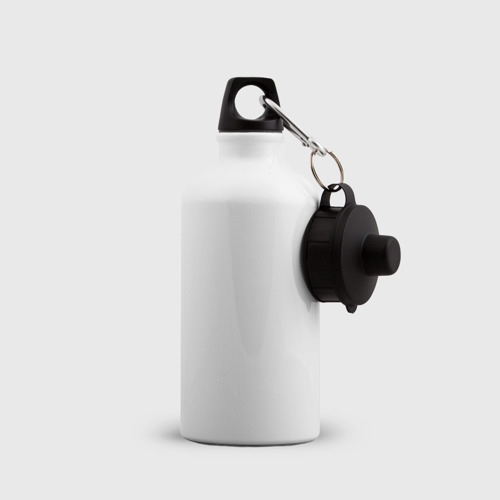 Бутылка спортивная Противогаз. Бэнкси Фото 01