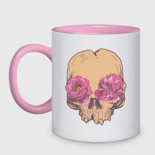 Skull flower eyes
