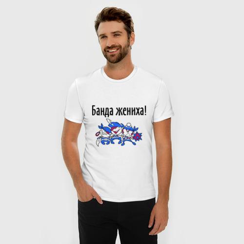 Мужская футболка премиум  Фото 03, Банда жениха