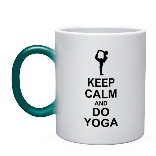 Keep calm and do yoga.
