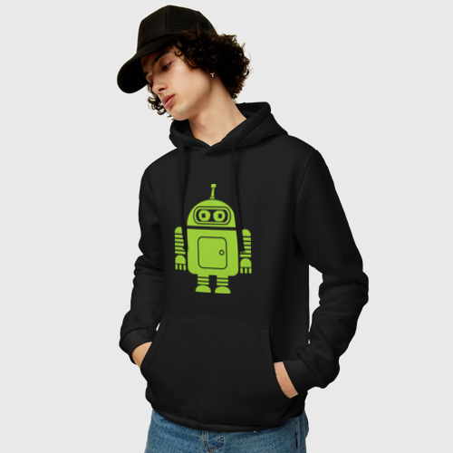 Мужская толстовка хлопок  Фото 03, Android-bender.