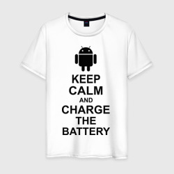 Keep calm and charge the battery (android)