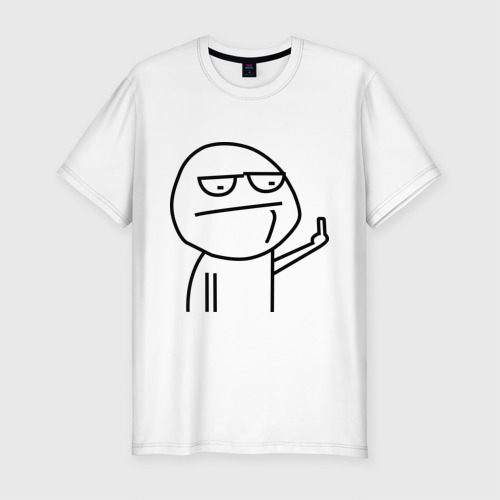 Мужская футболка премиум  Фото 01, Иди нафиг