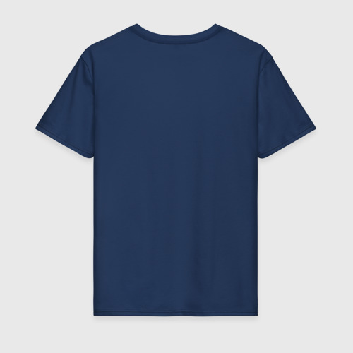 Мужская футболка хлопок Главное в жизни - еда, сон, volvo. Фото 01
