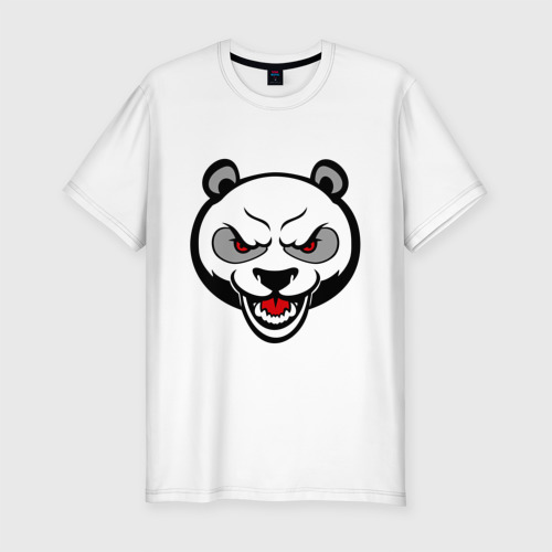 Мужская футболка премиум  Фото 01, Angry panda - злая панда
