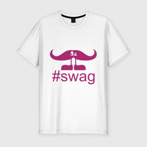 Мужская футболка премиум  Фото 01, Follow by swag