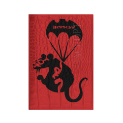 Rat with parachute  (Banksy)