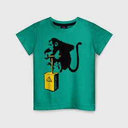 TNT monkey (Banksy)