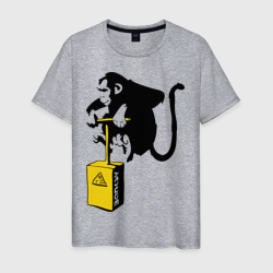 TNT monkey (Banksy)