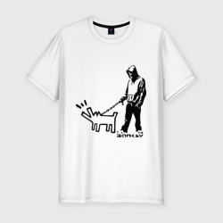 Парень с собакой (Banksy)