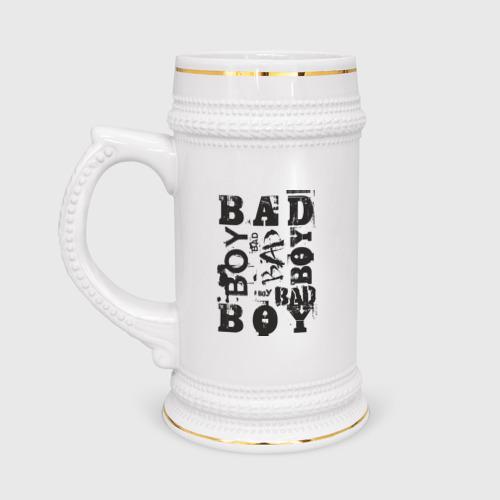 Кружка пивная Bad boy