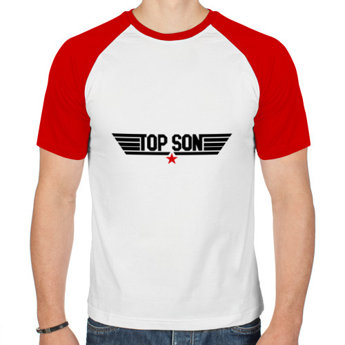 Мужская футболка реглан  Фото 01, Top son