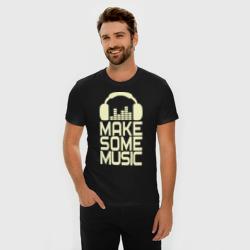 Make some music glow
