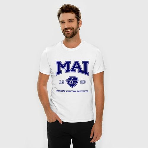 Мужская футболка премиум  Фото 03, MAI University