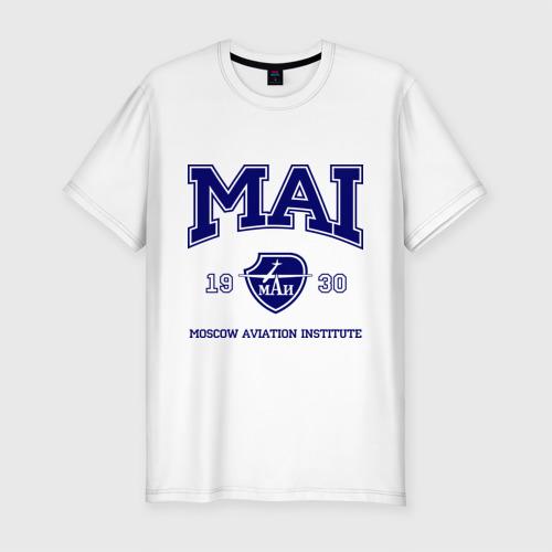 Мужская футболка премиум  Фото 01, MAI University