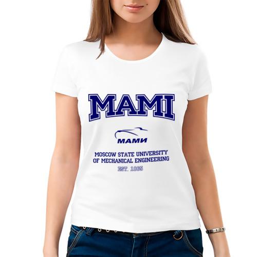 Женская футболка MAMI University от Всемайки