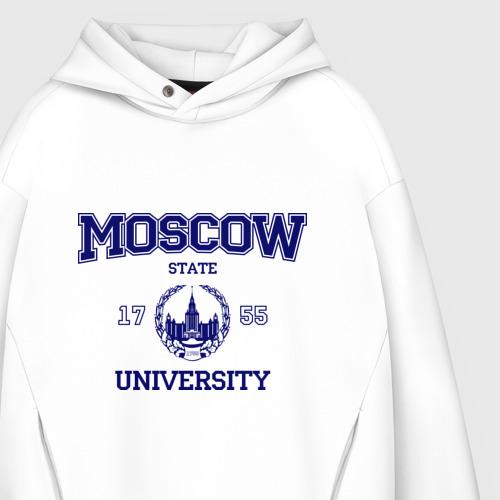 Мужское худи Oversize хлопок MGU Moscow University Фото 01