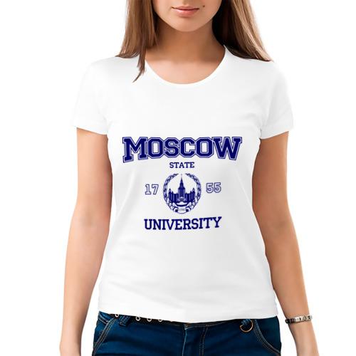 Женская футболка MGU Moscow University от Всемайки